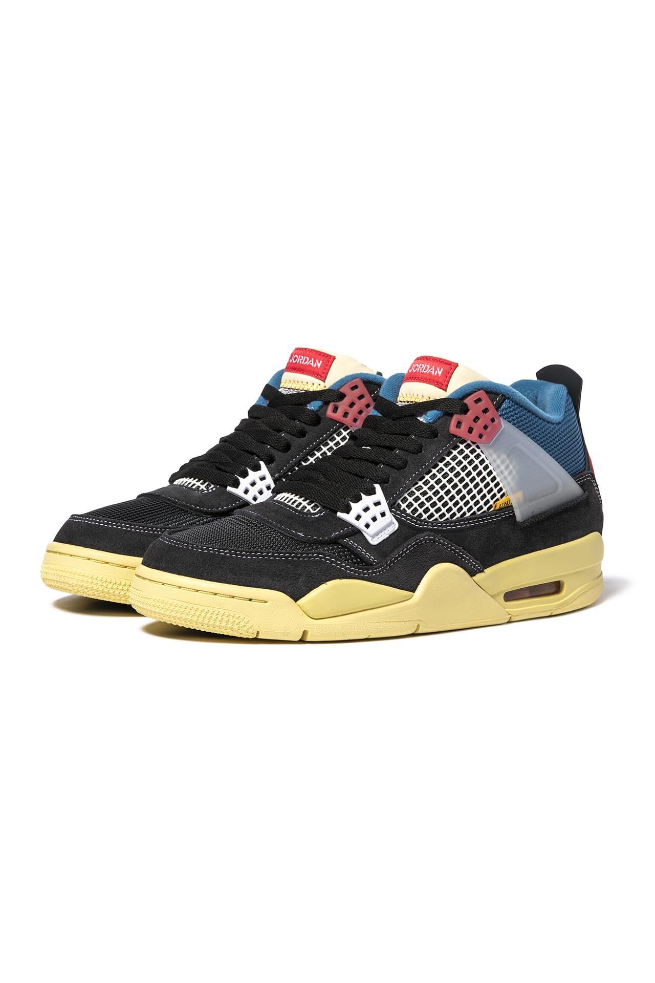 メンズ靴, スニーカー UNION AIR JORDAN 4 RETRO SP OFF-NOIR 4