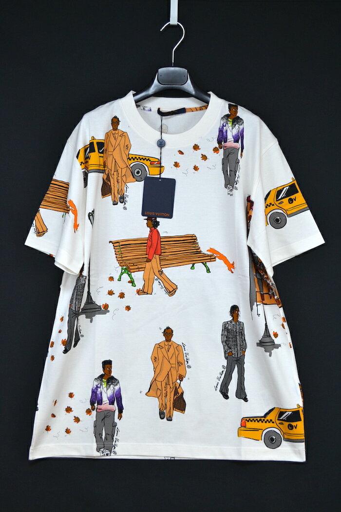 トップス, Tシャツ・カットソー 19AW LOUISVUITTON T XL LV