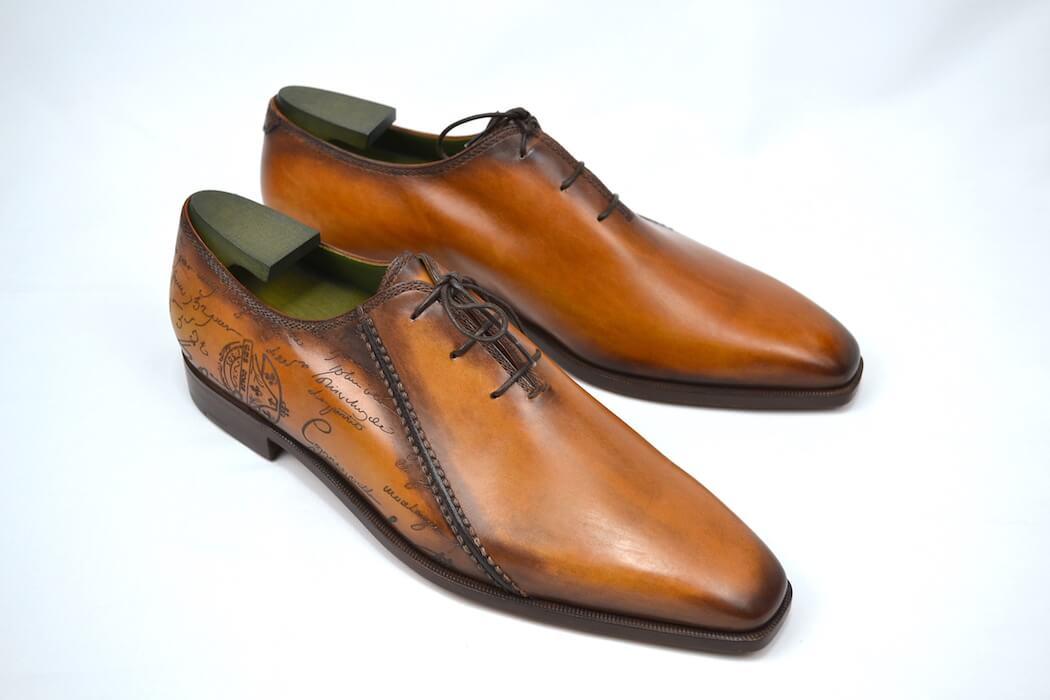 メンズ靴, ビジネスシューズ Berluti DEMESURE VNVNSCRIT CACAO