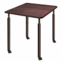 福祉施設向けテーブル昇降テーブル4本キャスター脚