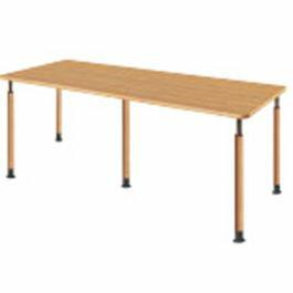 福祉施設向けテーブル昇降テーブル5本固定脚