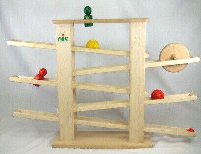 NICスロープ(ニックスロープ) 木のおもちゃ スロープ ボール 転がる 木製 出産祝い クーゲルバーン 知育玩具