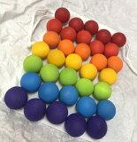 グリムス35個の木製ボール 手遊び GRIMMS グリムス Small Wooden Marbles