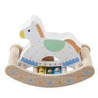 カランコロン木馬0.1.2歳赤ちゃん木のおもちゃ手遊び音が出る出産祝い