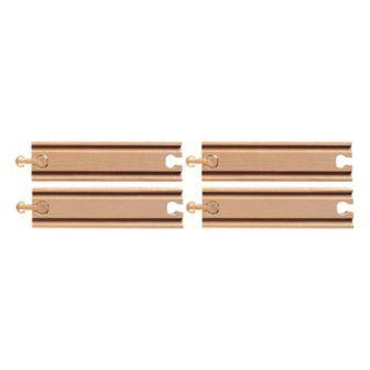 短直線4本(9624) MICKI ミッキィ社 汽車セット 木製レール 木のおもちゃ 木製 汽車 レール 出産祝いお誕生日 知育玩具