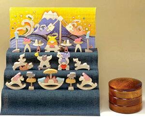 小黒三郎受注発注■円武者三段飾り・特製垂幕