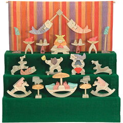 小黒三郎五月人形6月お届け予定■円武者三段飾り・普通垂幕