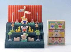 【送料無料】受注発注 二童子三段飾り・普通垂幕
