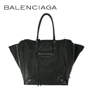 Balenciaga Bag BALENCIAGA 토트 백 357330 DLQ0N 1000 Paper A5 PAPIER A5 Black Ladies Leather