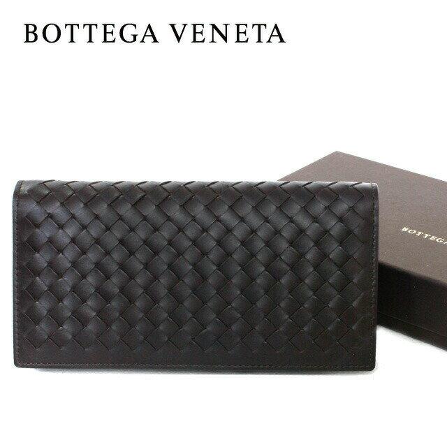 ボッテガヴェネタ 長財布 156819 V4651 2040 レザー(牛革) イントレチャート BOTTEGA VENETA ボッテガべネタ メンズ:Dream Pocket -ドリームポケット-