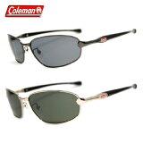 コールマン サングラス 偏光レンズ アジアンフィット(クリングス付き) COLEMAN CM4020 全2カラー 59サイズ オーバル ユニセックス メンズ レディース 【ケース付き】