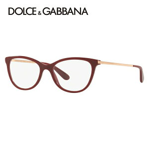 [PC 렌즈 / 데이트 렌즈 / 안경 렌즈를 선택할 수있는 무료 렌즈] Dolce & Gabbana 안경테 아시안 핏 D & G DG3258F 3091 54 사이즈 국내 정규 품 Fox Uni Sex 남성 여성