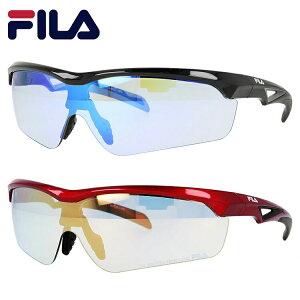 フィラ サングラス ミラーレンズ アジアンフィット FILA FLS 4005 全2カラー 142サイズ メンズ レディース スポーツサングラス ランニング ゴルフ ロードバイク 自転車 UVカット ギフト