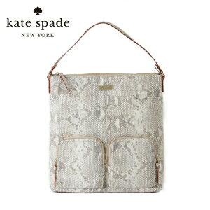 ケイトスペードショルダーバッグKATESPADELacasitaSnakeホワイトPXRU1712-026