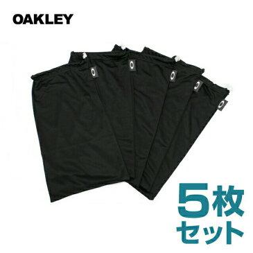 オークリー ゴーグル OAKLEY 06-648 ゴーグル収納ポーチ 5PK GOGGLE MICROBAGS 5枚セット クリーニングクロス ブラック スキー スノーボード GOGGLE オークレー