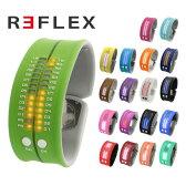 リフレックス 腕時計 REFLEX PD0019 LED デジタル ウォッチ Digital Watch シリコン クォーツ 男女兼用 メンズ レディース 反射バンド パッチンプレス