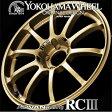 ADVAN Racing RC3 RCIII アルミホイール 18×8.5J 5/114.3 +38 ゴールド