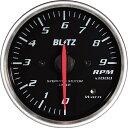 ブリッツ BLITZ SDメーター φ60 黒 タコメーター 電気式 離島...