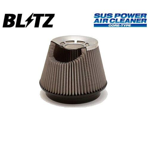 ブリッツ エアクリーナー サスパワー SUSパワー コアタイプ ミラ L502S、L512S 94/09-98/10 JB-JL