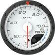 デフィ Defi -Link メーター アドバンス CR Φ60 白 油圧計