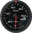 デフィ メーター アドバンス CR Φ60 黒 油圧計 送料無料