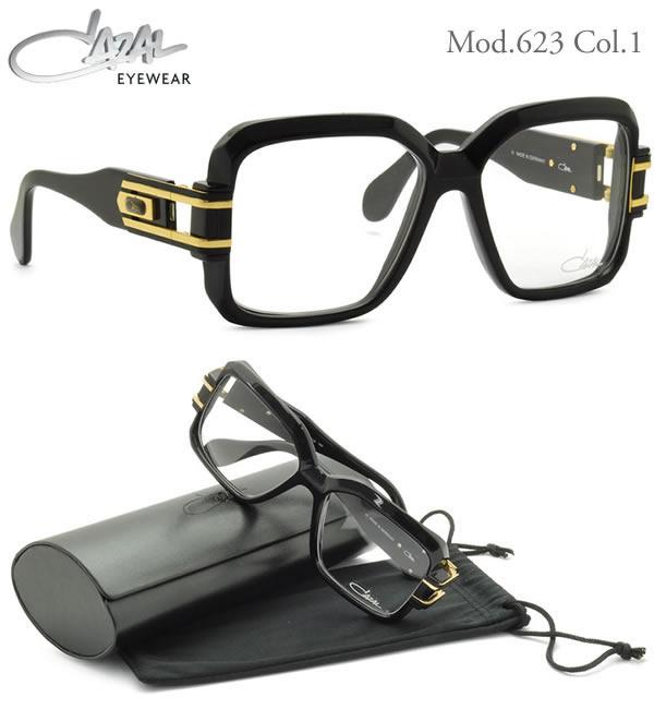 【CAZAL】(カザール) サングラス レジェンズ 623 1 57サイズ レジェンド CAZAL LEGENDS クリアレンズ仕様 メンズ レディース:電脳眼鏡