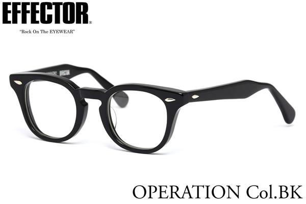 眼鏡・サングラス, 眼鏡  OPERATION BK 47 UV EFFECTOR The REAL McCOYS