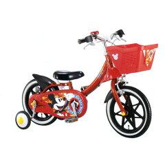 組立完成品☆【送料無料】アイデス カジー 14インチ 自転車 ミッキーマウス ides kazy14...
