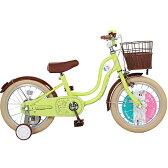 【送料無料】macaron collection(マカロンコレクション) 16インチ自転車 グリーン【ラッピング不可商品】