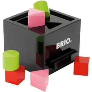 ポイント5倍 エントリーで4/22 23:59迄【送料無料】BRIO(ブリオ) 形合わせボックス ブラック【s...