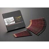 三菱鉛筆/ハイユニアートセット(10H〜10Bまでの全22硬度を揃えた鉛筆セット)