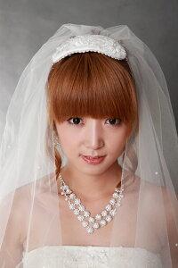 オシャレな花嫁の必需品!ティアラやクラウンはもう古い!松嶋奈々子もボンネをドラマで着用♪...