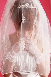 ウェディング用に!花嫁の必需品!ブライダルヴェール7月31日までの限定サマーセール♪【送料無...