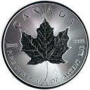 カナダ メイプル純銀銀貨 2021年 1オンス 純銀 31.1g 新品未使用