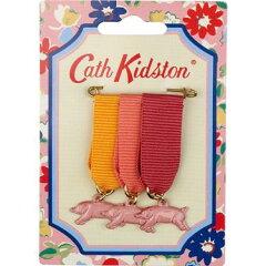 【2012年春夏新作】キャスキッドソン(Cath Kidston)ブタのメダルブローチ【あす楽対応_関東】【...