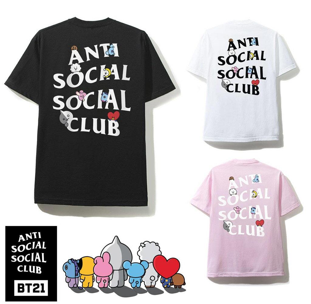 トップス, Tシャツ・カットソー (ANTI SOCIAL SOCIAL CLUB)BT21 T BTS ASSC