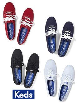 帆布運動鞋女子 Keds (Keds) 婦女的運動鞋和帆布鞋 / 02P28Sep16 白色 & 海軍 & 黑與紅 (冠軍原件)