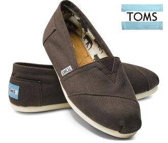 湯姆斯 (Toms) canvassrippon /ORIGINAL 經典巧克力和巧克力色 02P28Sep16
