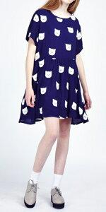 レイジーオーフ ワンピース Lazy Oaf Kitty Litter Dress