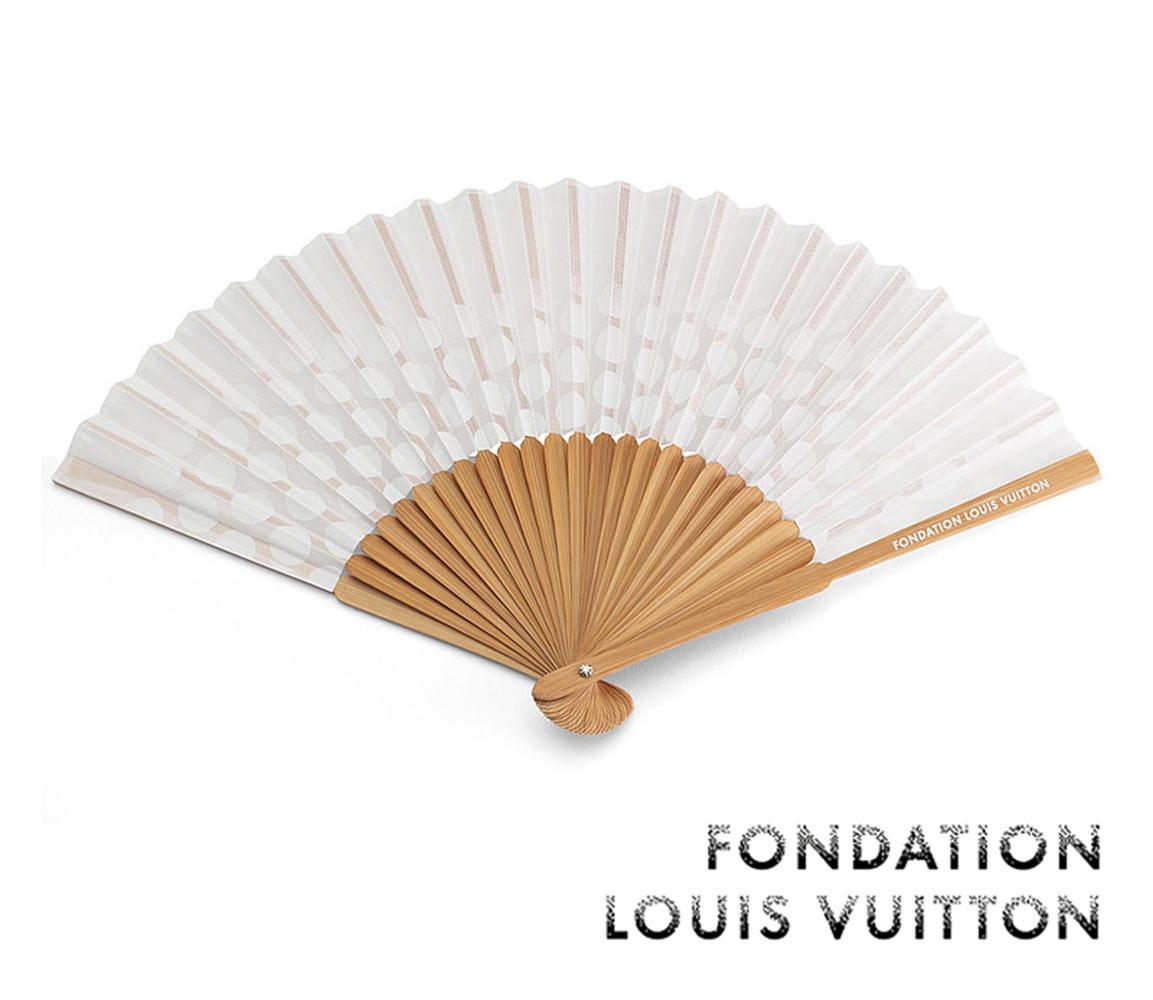 和装小物, 扇子 LOUIS VUITTONFONDATION LOUIS VUITTONFan02P28Sep16