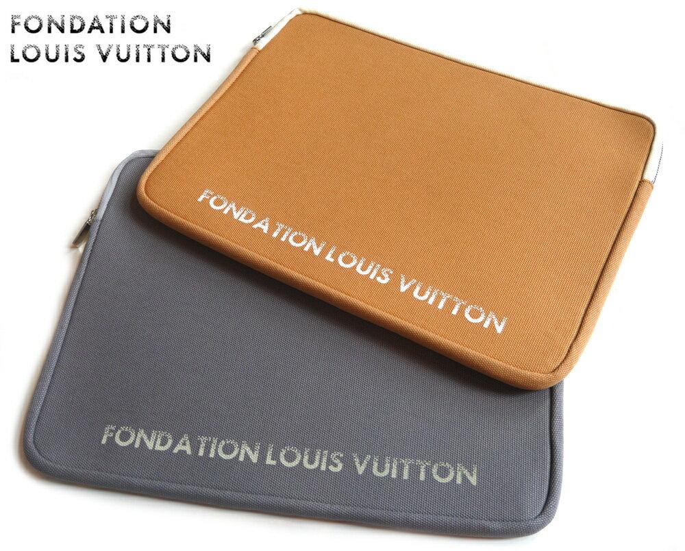 PCアクセサリー, PCバッグ・スリーブ LOUIS VUITTON 15FONDATION LOUIS VUITTONLaptop Sleeve 1502P28Sep16