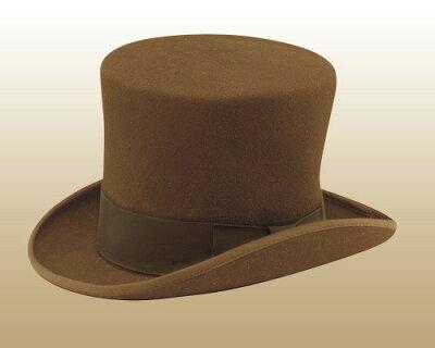 ニューヨークハット(New York Hat)マッドハッターハット/MAD HATTER(ブラウン)【あす楽対応_...