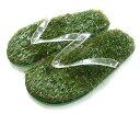 Kusa Flip Flopsレアカラーのクリア/草サンダル/芝生ビーチサンダル/人工芝/ビーサン/