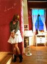 送料無料!【最終セール!】梨花さん愛用!CAROLINA K(カロリーナケー)リボン付き2Wayフリルス...