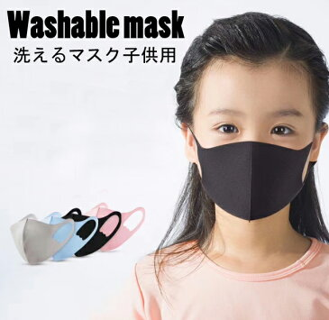 即納 洗えるマスク 子供用 在庫あり キッズ用 ネコポスは送料無料