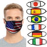 国旗マスク 布マスク 洗えるマスク 大人用 ネコポスは送料無料