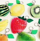 【クロネコDM便は送料無料】リアルフルーツポーチ果物ケース小物や小銭入れコインケースなどに最適