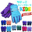 【クロネコDM便は送料無料】ちびっこスノーグローブスキーグローブ子供用キッズ防寒男の子女の子手袋