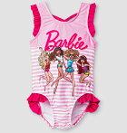 Barbie女の子用ワンピース水着バービースイムウェア子供キッズベビー90/100/110【クロネコDM便は送料無料】