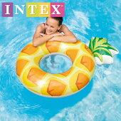 インテックスパイナップルチューブうきわ浮き輪intexインテックス56266【箱なしでネコポス便は送料無料】
